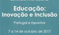 Seminário de outubro agora inclui Guimarães!